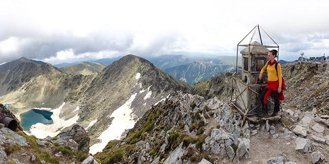 Bulgariens högsta berg Musala