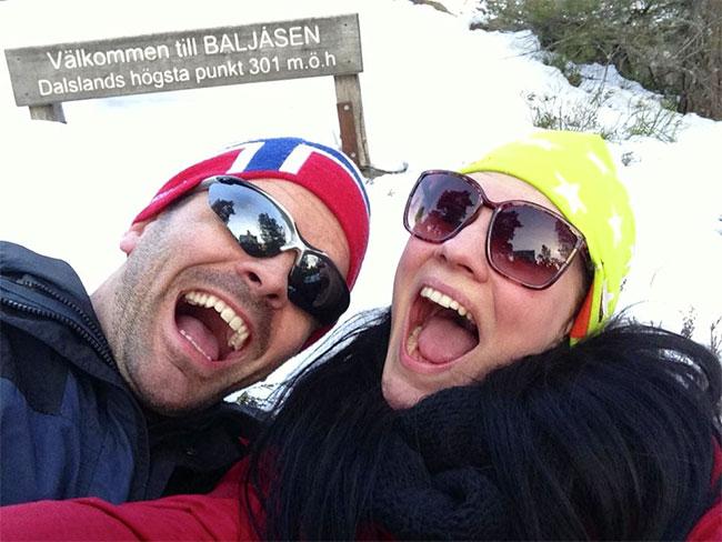 Dalslands högsta punkt Baljåsen